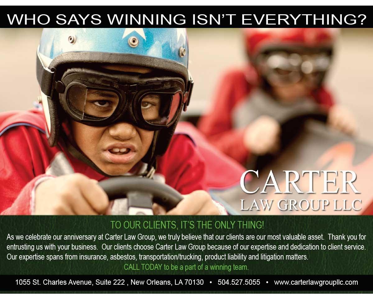 Carter Law Group Postcard